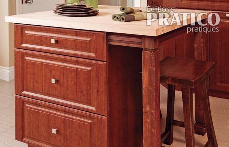 Mini ilot de cuisine plan pour installer un comptoir jpeg - Plan pour fabriquer un ilot de cuisine ...