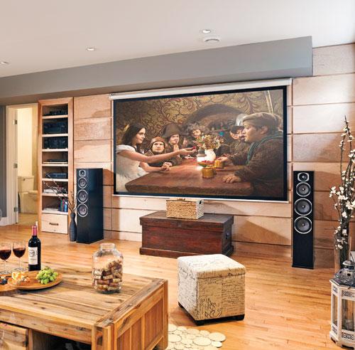 Mur d 39 accent textur au sous sol salon inspirations for Solde decoration interieur