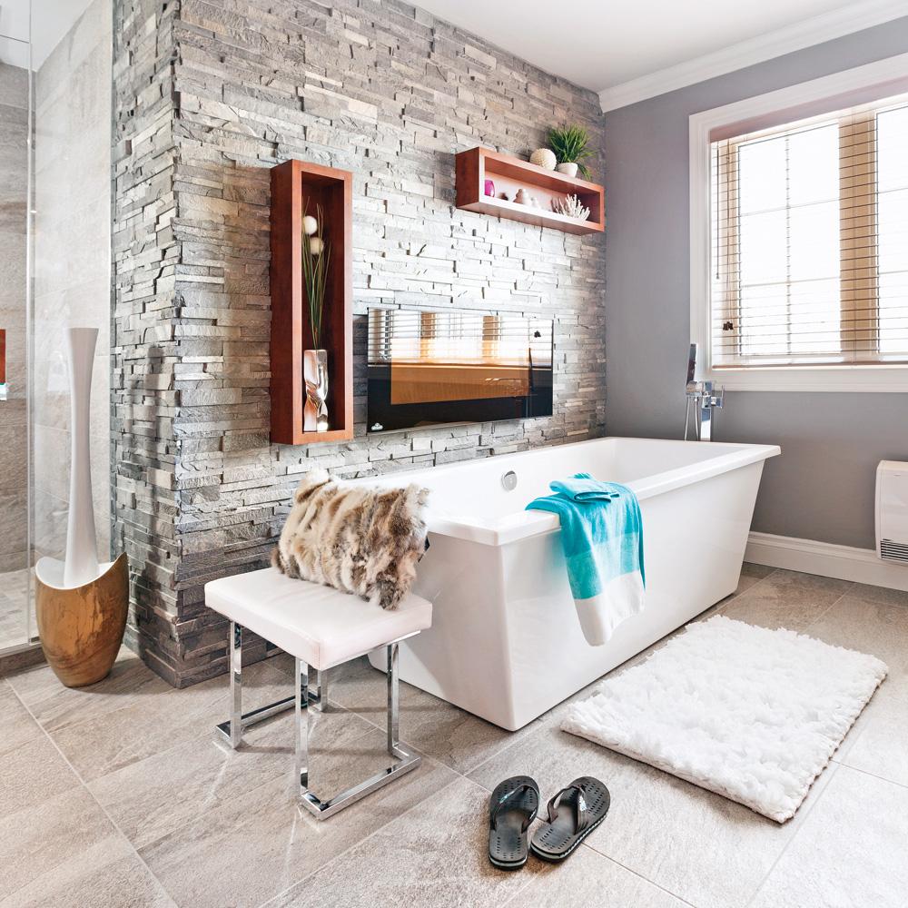 noble ardoise dans la salle de bain salle de bain. Black Bedroom Furniture Sets. Home Design Ideas