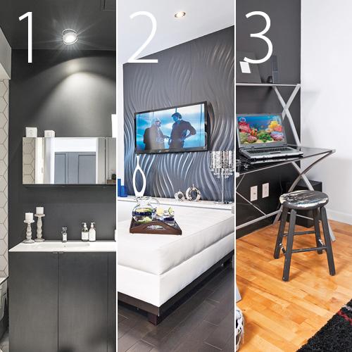 le plafond peint la salle de bain amnagement hum design humadesigncom source v2com fil de presse v2com newswirecom cette pice fait partie dun