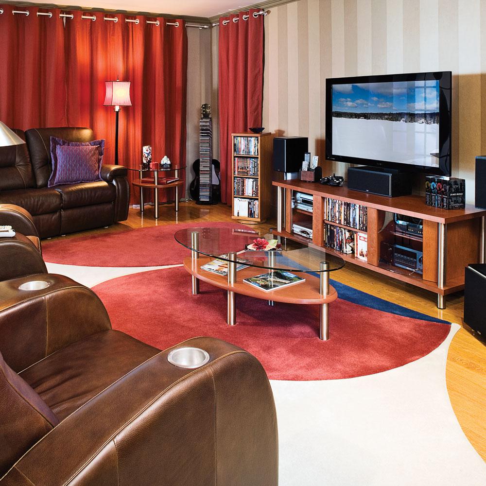 o et comment am nager un cin ma maison trucs et. Black Bedroom Furniture Sets. Home Design Ideas