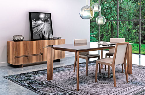Mobilier bureau design italien quebec for Bureau meuble quebec