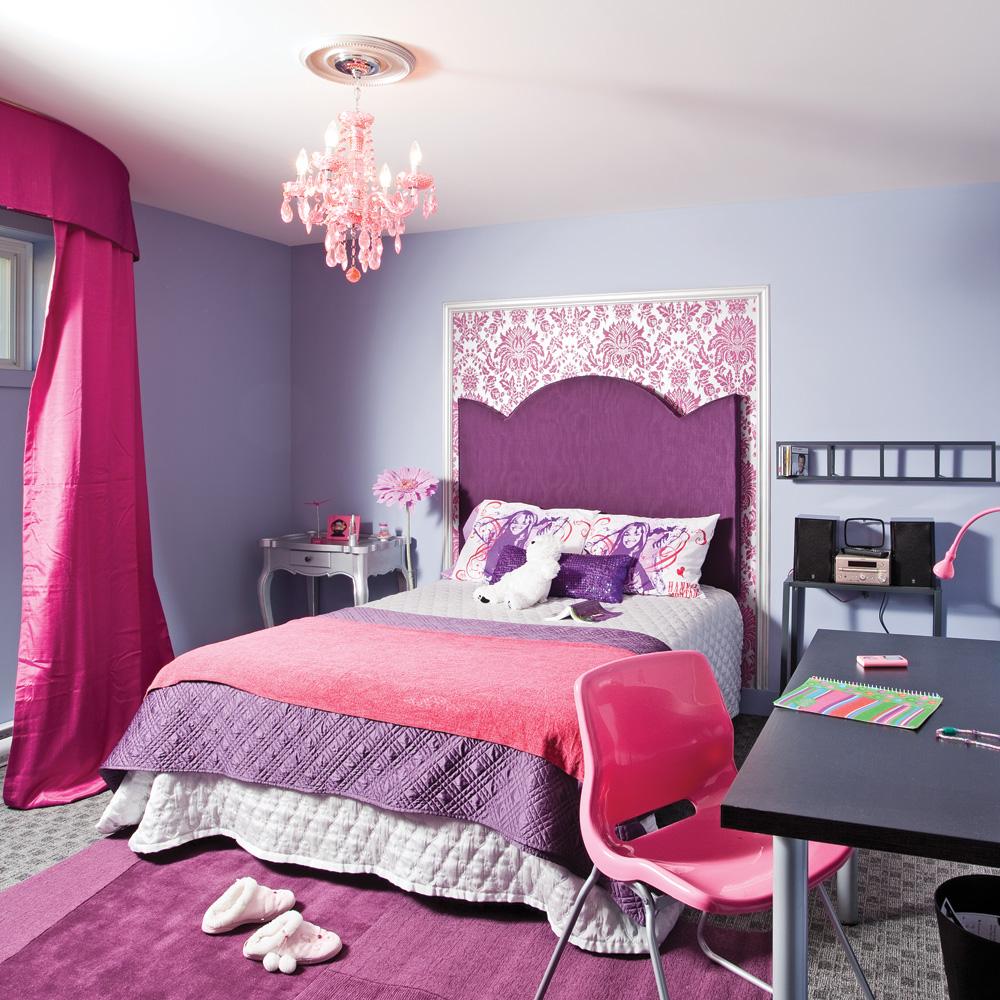 Papier peint et moulures pour un look éclectique   chambre ...