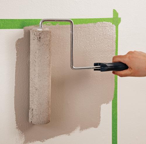En tapes peindre un damier parfait au mur en tapes for Peindre deux couleurs sur un mur