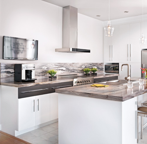 Planchers armoires dosserets d couvrez les nouvelles - Dessus de comptoir de cuisine pas cher ...