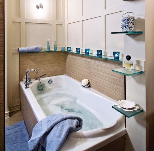 10 id es pour relooker la salle de bain moins de 500 salle de bain inspirations. Black Bedroom Furniture Sets. Home Design Ideas