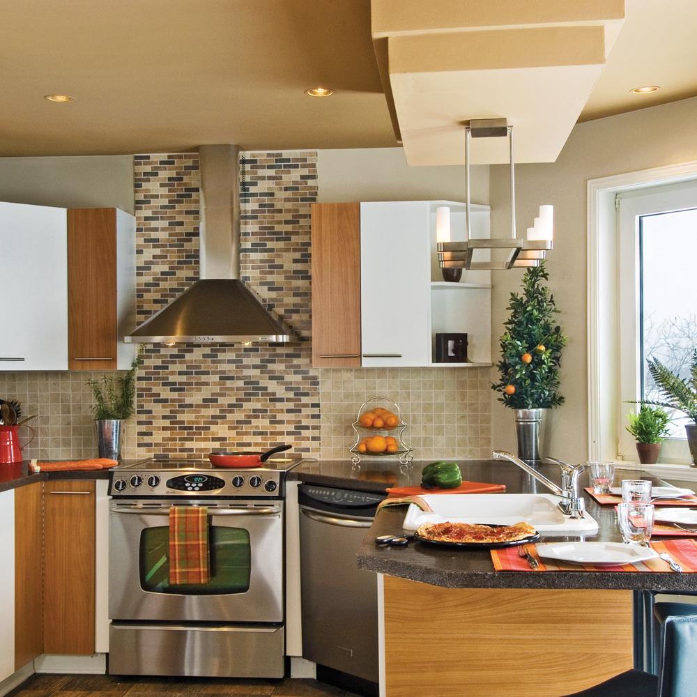 R novation ing nieuse de la cuisine cuisine avant for Deco renovation cuisine