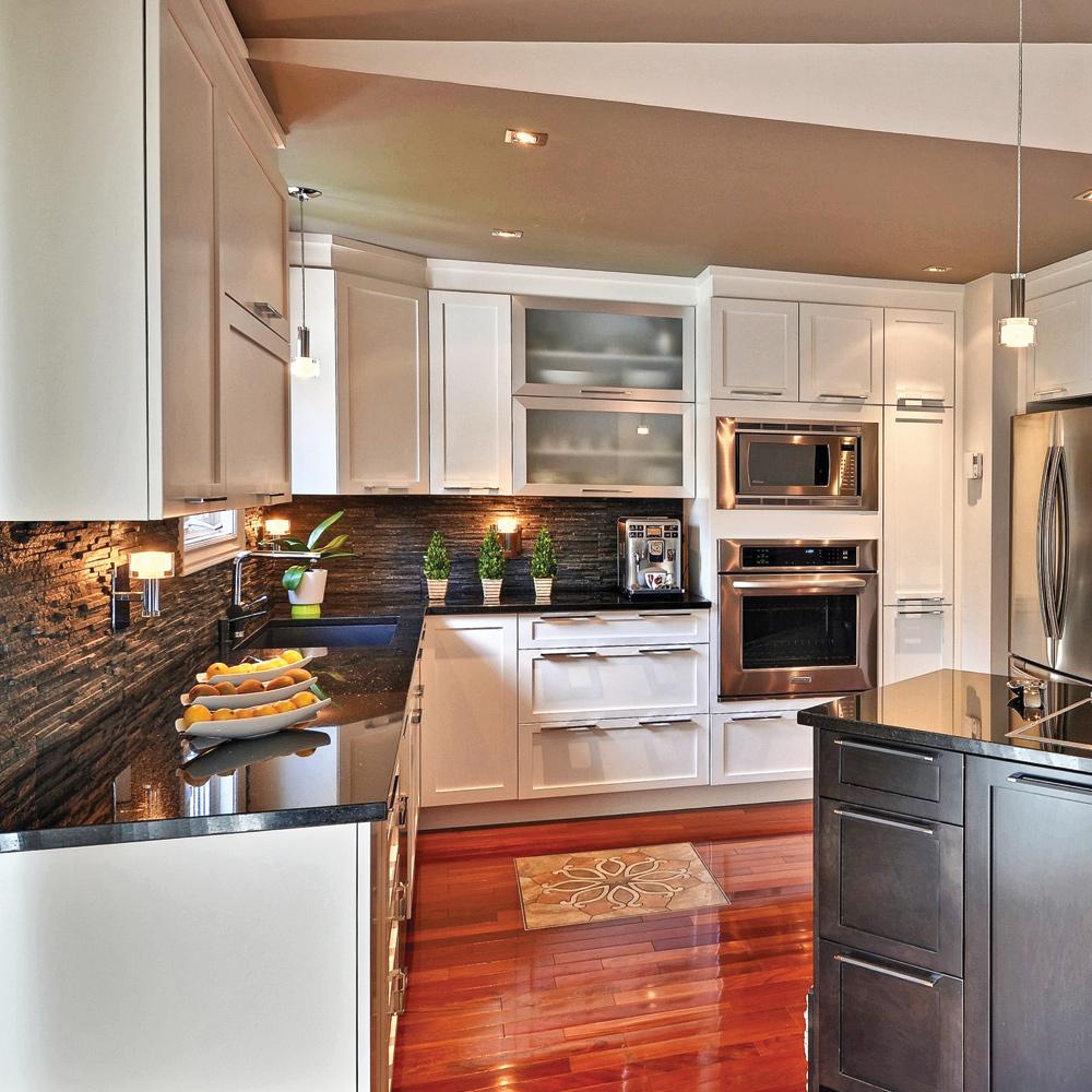 Riches textures dans la cuisine - Cuisine - Avant après ...