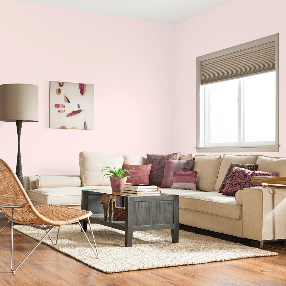 rose quartz dans la salle de s jour salon inspirations. Black Bedroom Furniture Sets. Home Design Ideas
