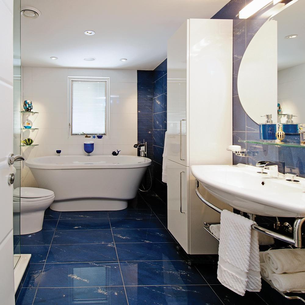 Decoration Salle De Bain Bleu