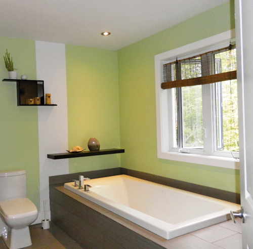 salle de bain style asiatique - salle de bain - avant après ... - Salle De Bain Asiatique