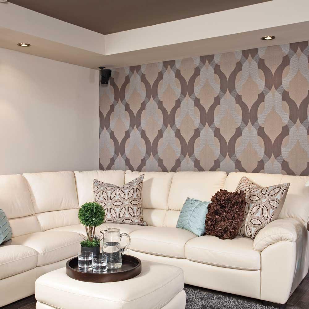 Conceptions modernes des sous sol en salon ~ Décoration Salon / Décor de Salon