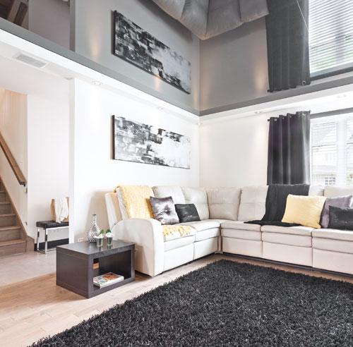 Plafond cuisine plafond cuisines - Amenager une maison en longueur ...