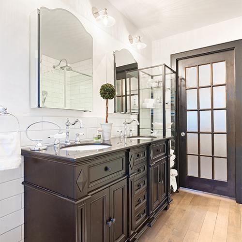 shopping d co shabby chic salle de bain inspirations d coration et r novation pratico. Black Bedroom Furniture Sets. Home Design Ideas