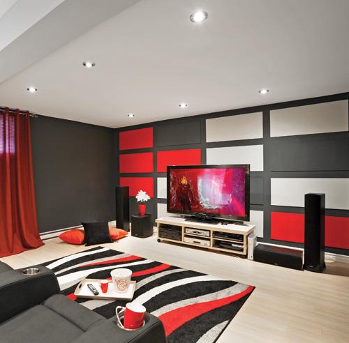 sous sol en alternance de couleurs sous sol. Black Bedroom Furniture Sets. Home Design Ideas