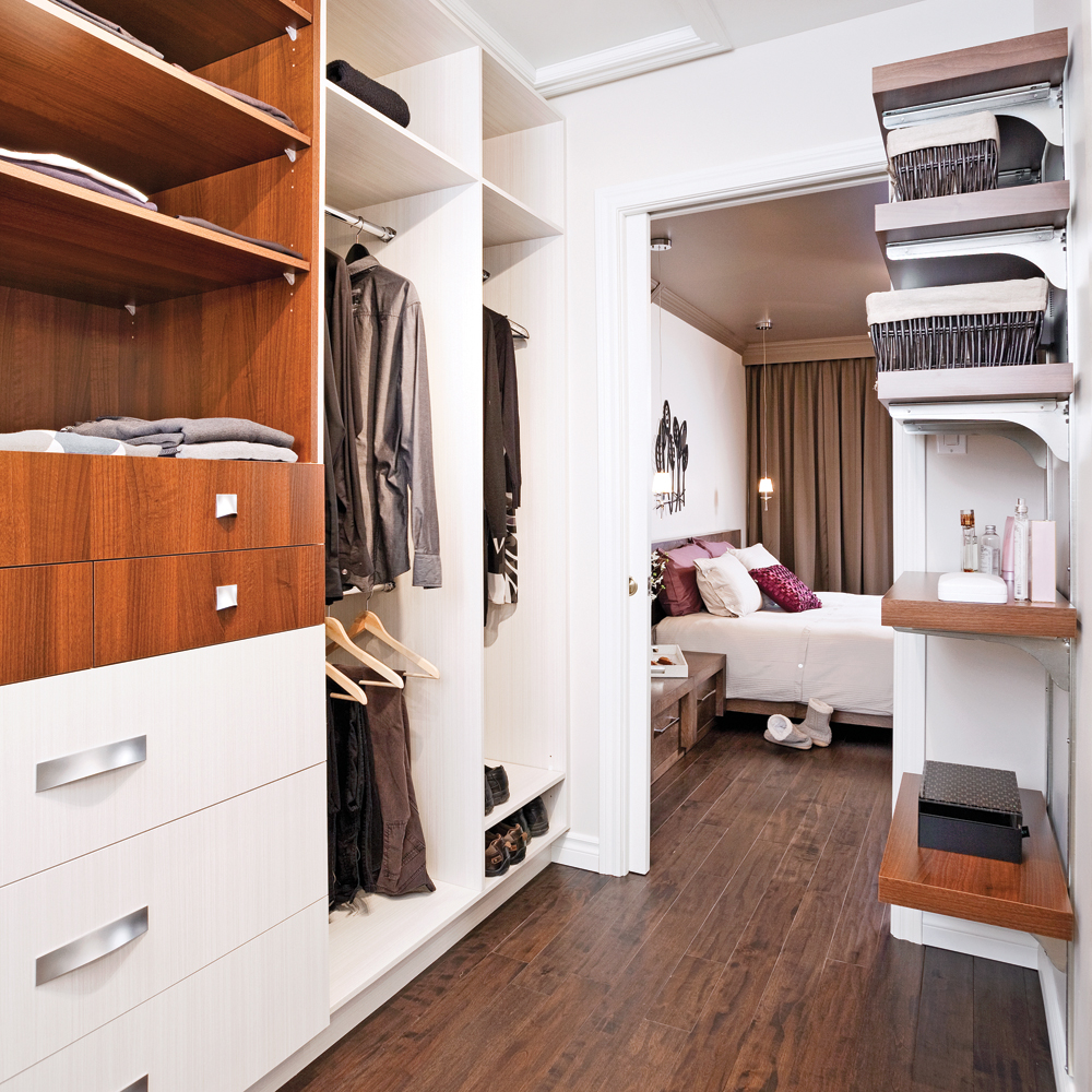 Spacieux walk in chambre inspirations d coration et for Chambre walk in