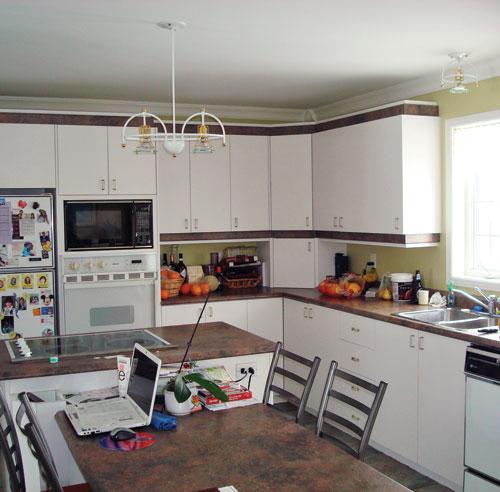 Sph re commune dans la cuisine cuisine avant apr s for Cuisine a la mode