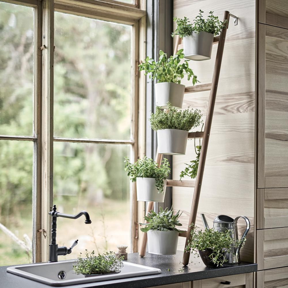 Support fines herbes en chelle cuisine inspirations for Echelle de cuisine