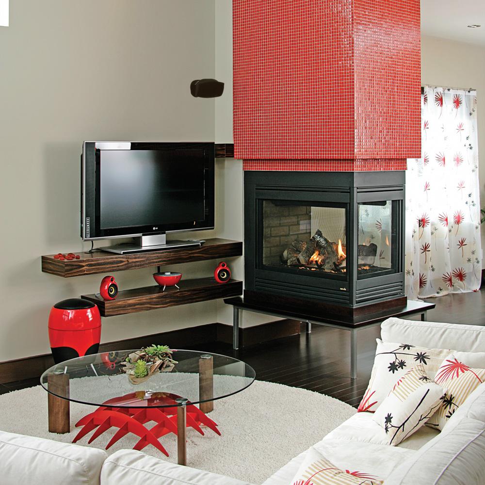 Foyer Art Vif Bienne : Télévision ou foyer quoi regarder salon