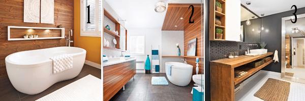 Les tendances salles de bain 2016 en 24 d cors trucs et for Salle de bain chaleureuse