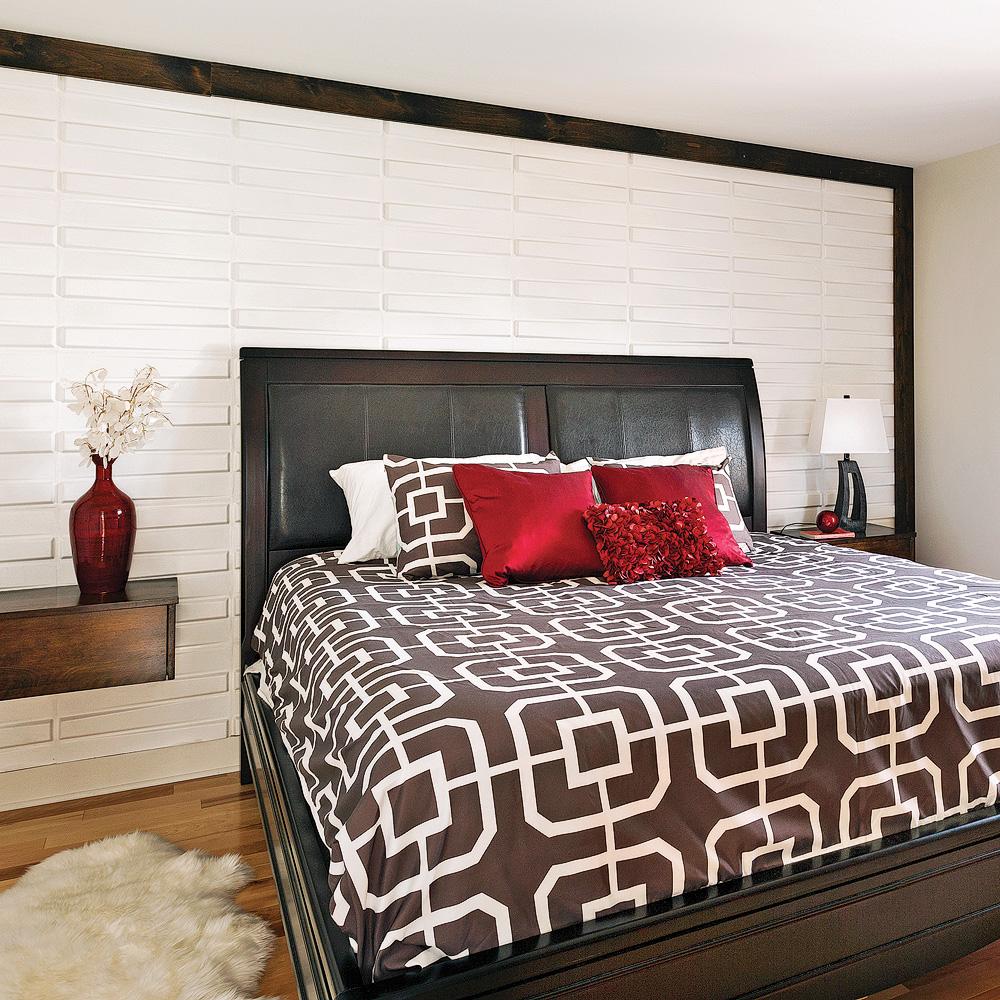 T te de lit effet 3d pour la chambre chambre for Decoration chambre 3d