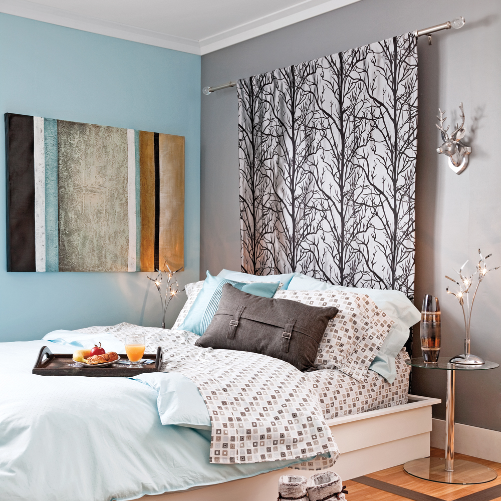 t te de lit rideau en tapes d coration et r novation pratico pratique. Black Bedroom Furniture Sets. Home Design Ideas