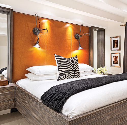 papier peint tendance chambre adulte decoration chambre. Black Bedroom Furniture Sets. Home Design Ideas