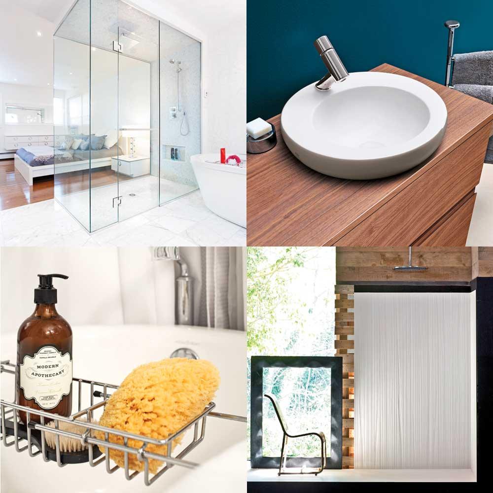 Le top 10 des tendances pour la salle de bain trucs et for Salle bain tendance