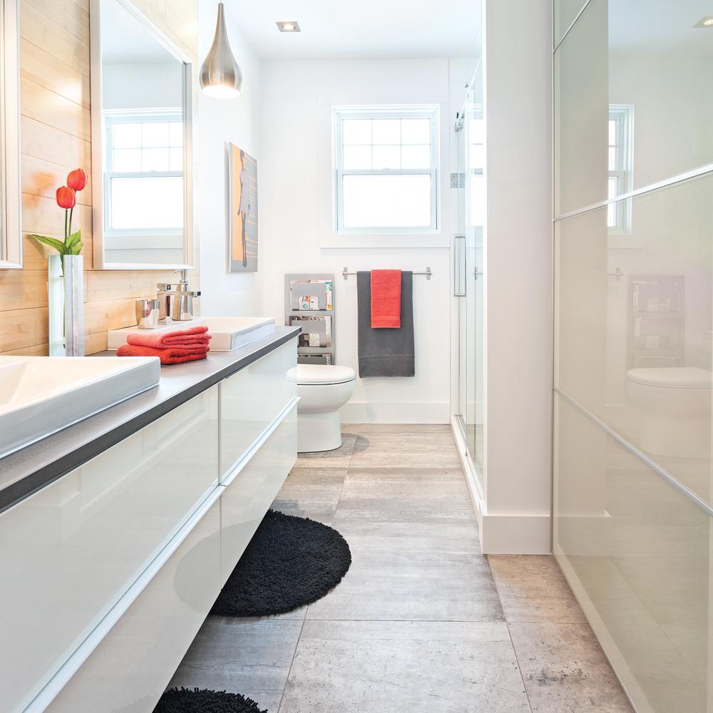 Salle de bain - Avant après - Décoration et rénovation - Pratico ...