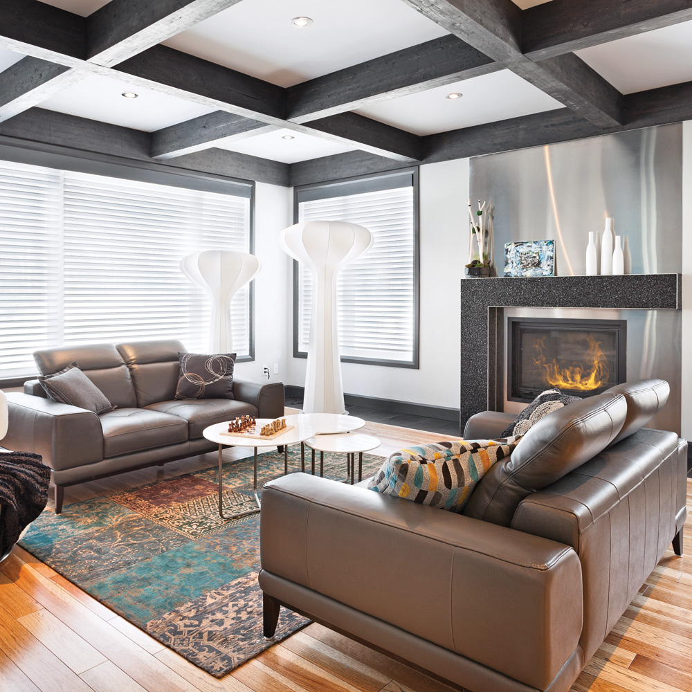 deco salon bleu marine. Black Bedroom Furniture Sets. Home Design Ideas