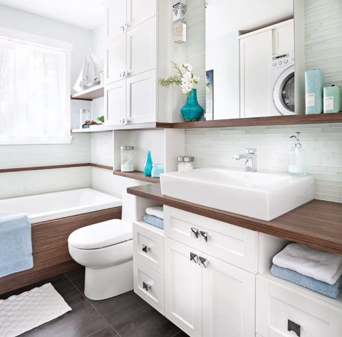 43 solutions infaillibles pour le rangement trucs et for Cube de rangement salle de bain