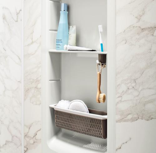 43 solutions infaillibles pour le rangement trucs et - Tour de rangement salle de bain ...