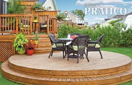 Un patio tout en rondeurs plans et patrons d coration for Plan de patio exterieur en bois