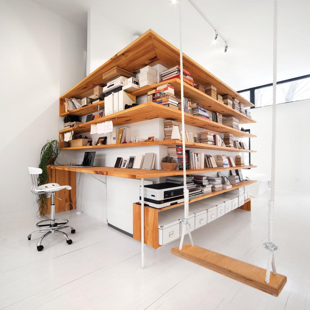 Une Biblioth Que Au Concept Original Bureau Inspirations D Coration Et R Novation