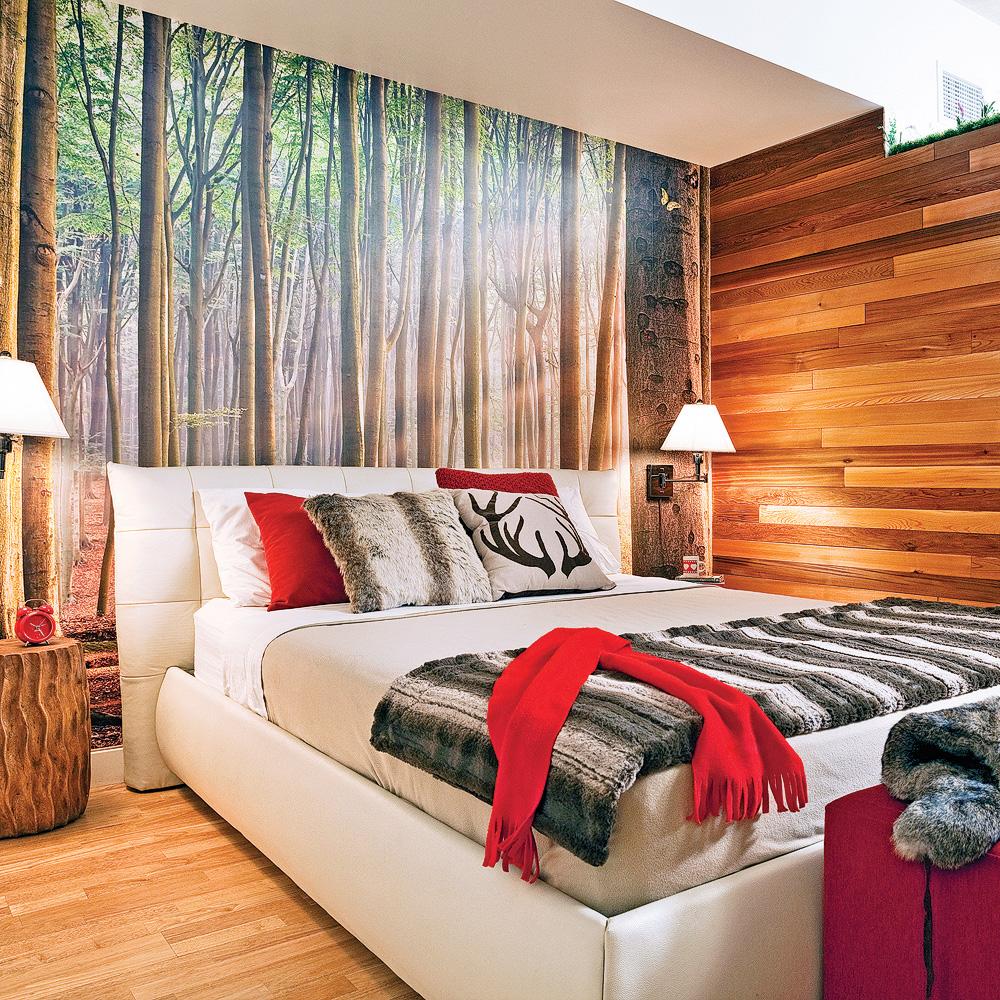 Une chambre dans la nature chambre inspirations d coration et r novatio - Modele de chambre peinte ...