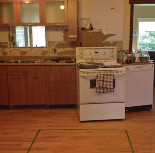 Une cuisine chaleureuse et moderne - Cuisine - Avant après ...