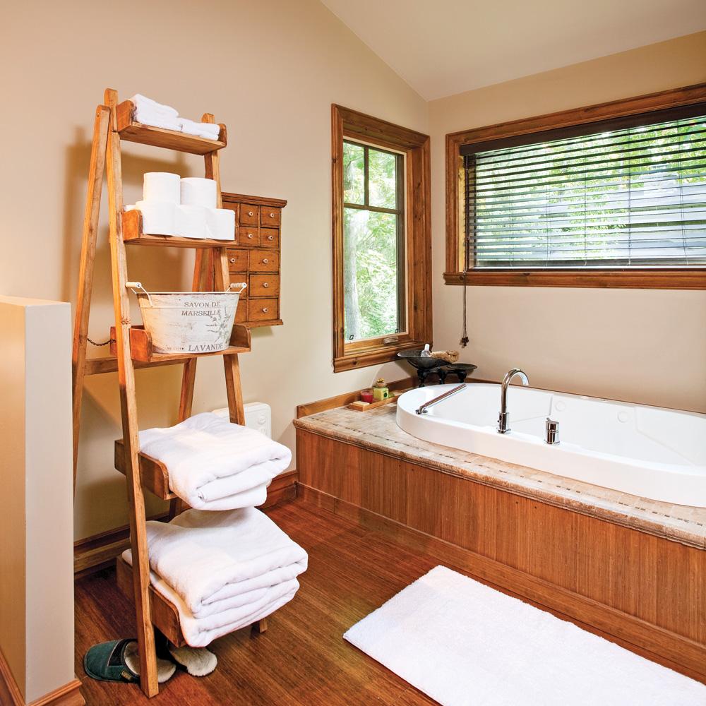 une salle de bain au cachet intemporel salle de bain