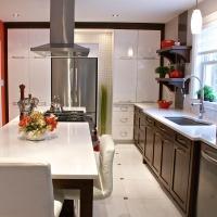 Influence shabby chic en cuisine cuisine for Cuisine fonctionnelle et ergonomique