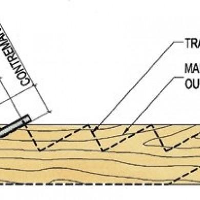 Fabriquer un limon pour un escalier plans et patrons for Plan escalier exterieur bois