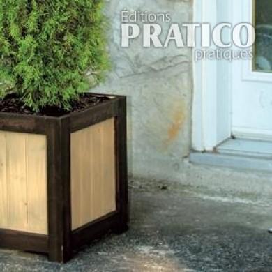 construire un grand bac fleurs pour arbuste plans et. Black Bedroom Furniture Sets. Home Design Ideas