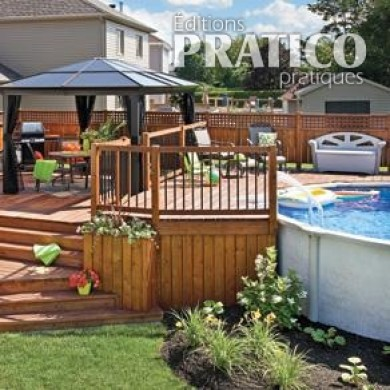 Le patio trait d 39 union patio inspirations jardinage for Patio exterieur en bois