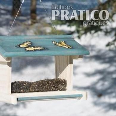 peindre une mangeoire d 39 oiseaux plans et patrons jardinage et ext rieur pratico pratique. Black Bedroom Furniture Sets. Home Design Ideas