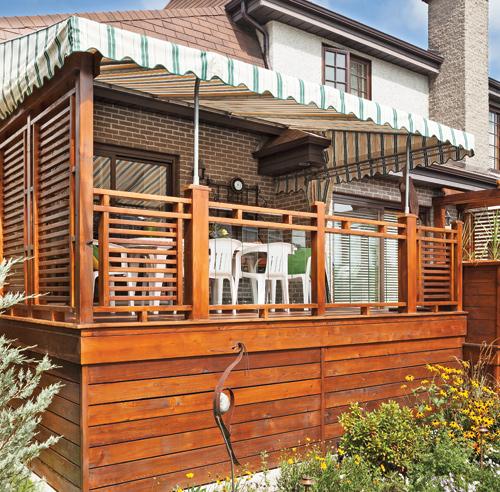 30 styles de garde corps pour un look unique patio inspirations jardina - Construire garde corps ...