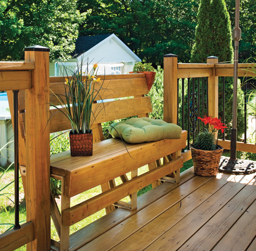 30 styles de garde corps pour un look unique patio for Patio exterieur arriere