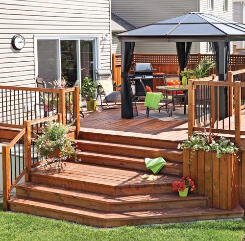 30 styles de garde corps pour un look unique patio. Black Bedroom Furniture Sets. Home Design Ideas