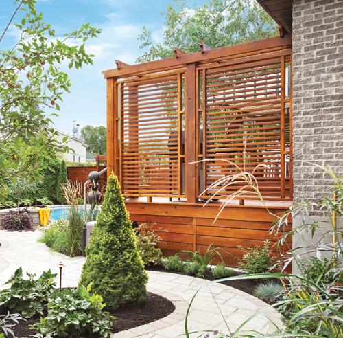 Awesome ecran intimite jardin images design trends 2017 for Idee pour se cacher des voisins
