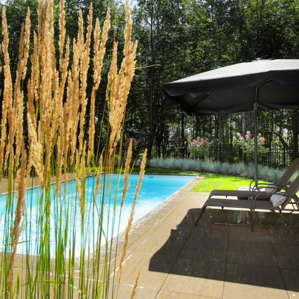 Autour de la piscine jardin inspirations jardinage for Autour de la piscine