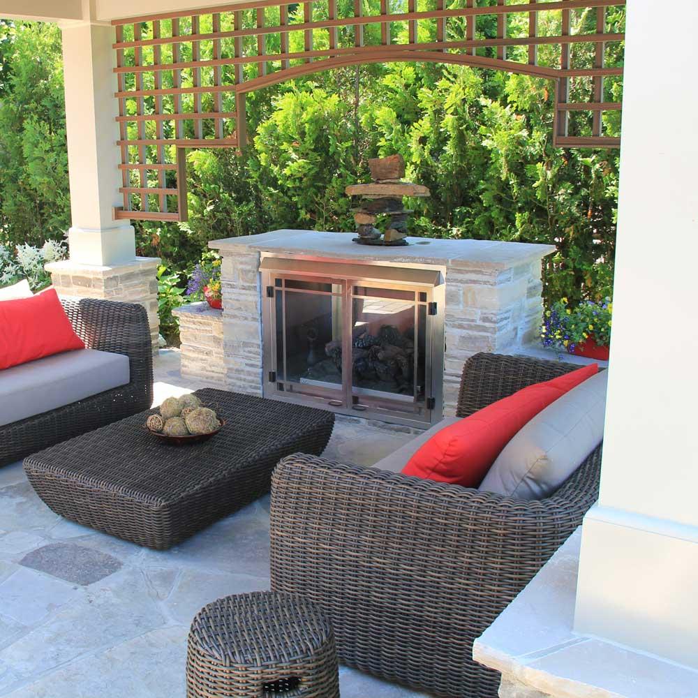 design comment choisir et positionner son foyer trucs et conseils jardinage et ext rieur. Black Bedroom Furniture Sets. Home Design Ideas