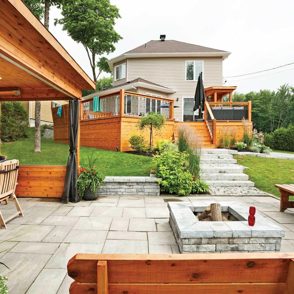 Espaces compl mentaires patio inspirations jardinage for Patio exterieur