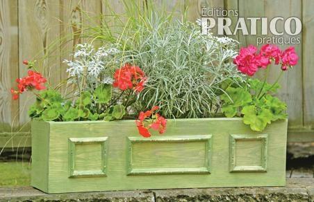 fabriquer une simple jardini re en tapes jardinage et ext rieur pratico pratique. Black Bedroom Furniture Sets. Home Design Ideas